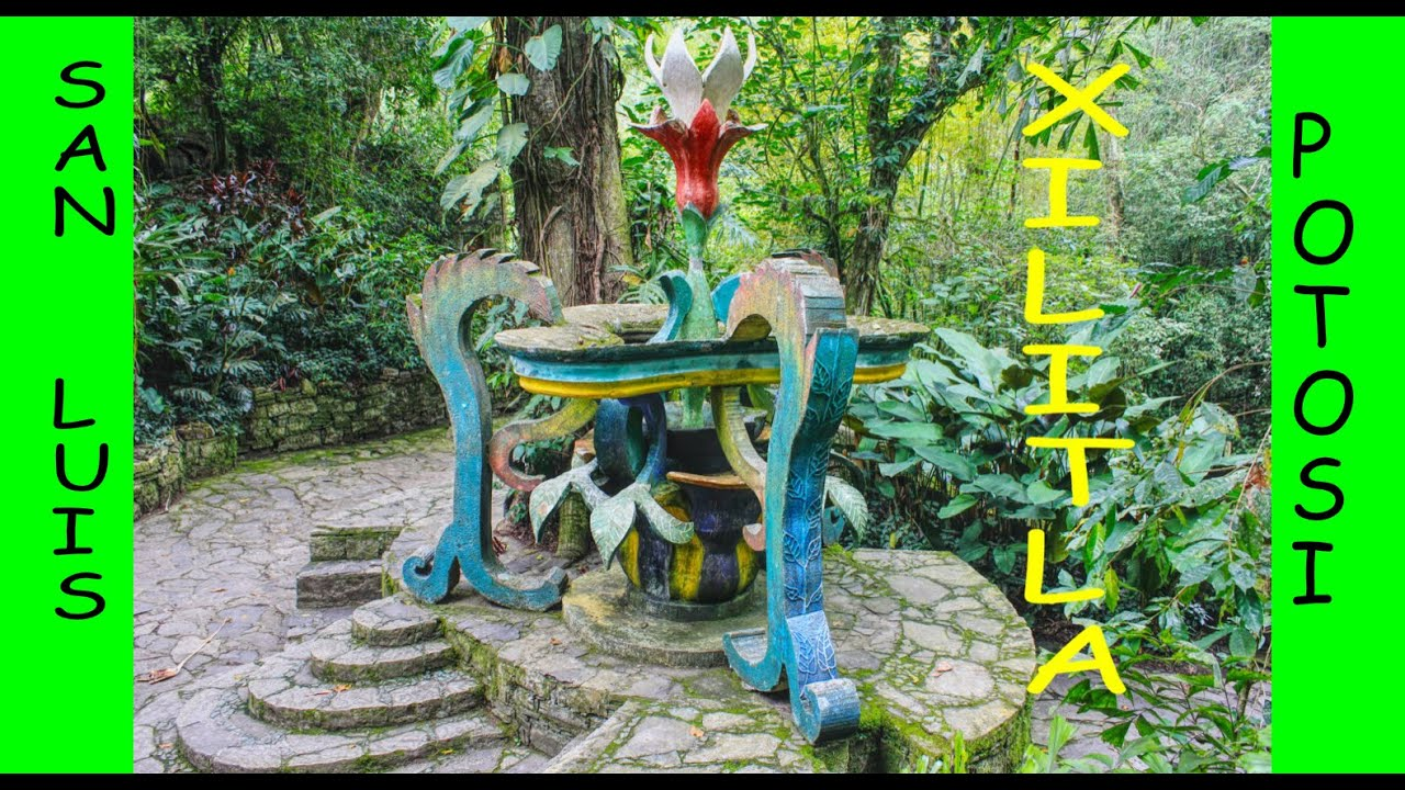 Jardin surrealista de edward james youtube for Jardin xilitla