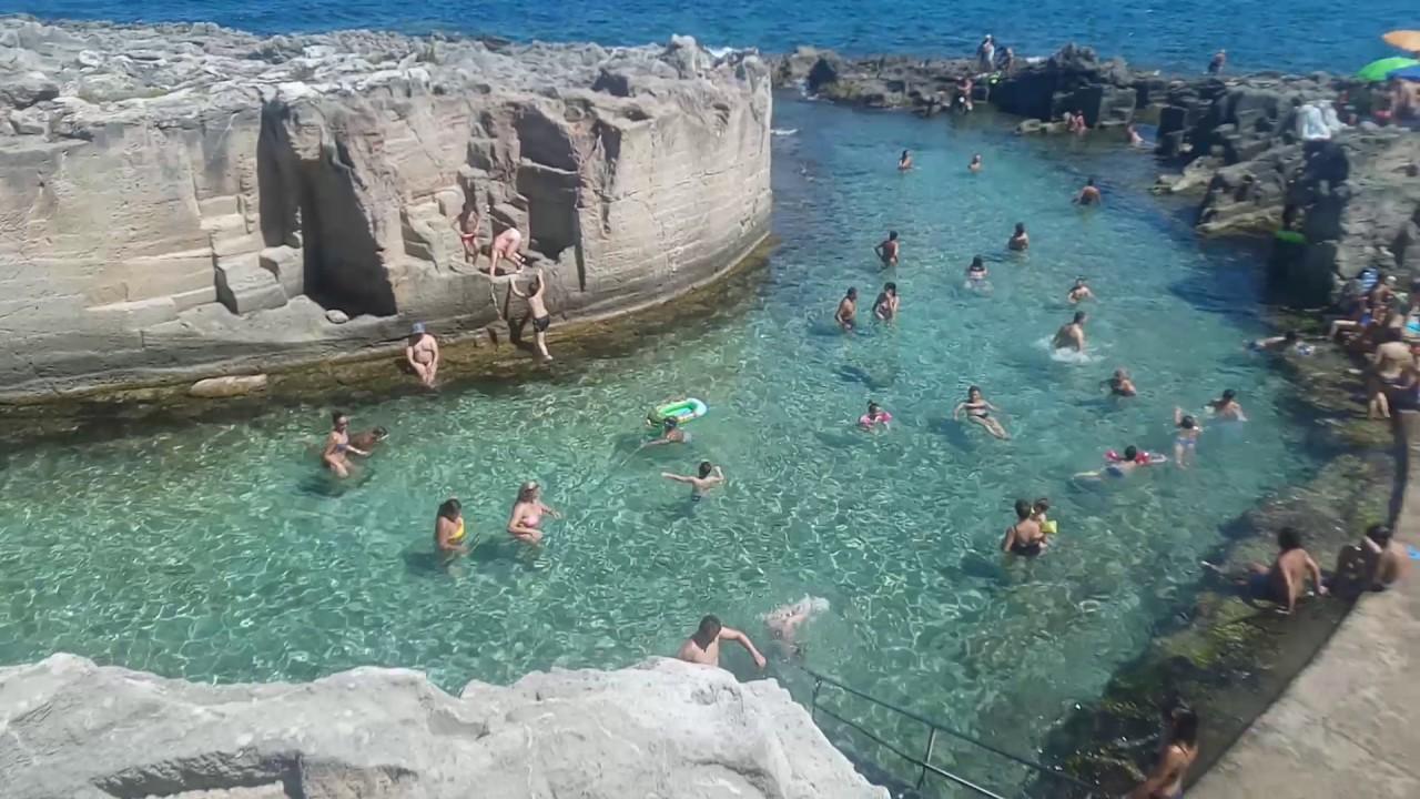 Marina Serra di Tricase  piscina naturale ESTATE 2017  YouTube