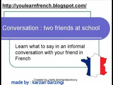 Learning french for kurds  فێربوونی فەڕەنسی