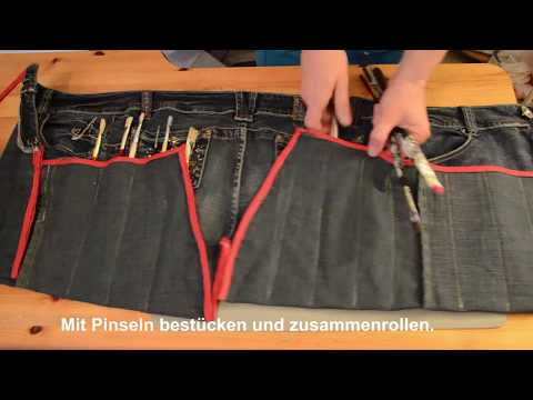 Diy Einfache Tasche Nähen Aus Einer Alten Jeans Für Nähanfänger
