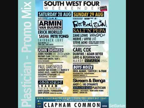 Plastician - SW4 & GetDarker Dubstep Promo Mix - July 2010