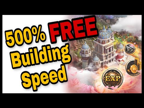 500% Building Speed Without Royal Set   CoK Tips & Tricks Ep.13   #CoKExclusive