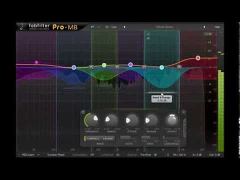 Introduction to FabFilter Pro-MB multiband compressor/expander