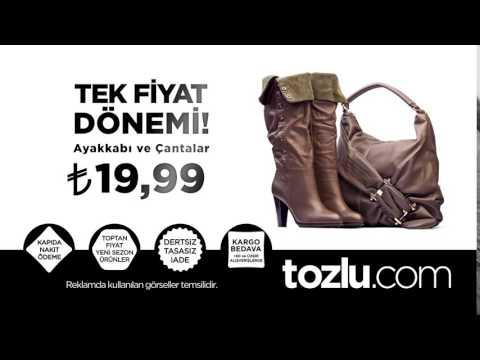 Tozlu.com'da Ayakkabı ve Çantalarda Özel İndirimler!