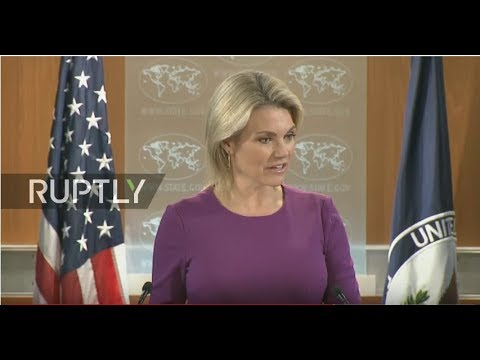 LIVE: US State Department press briefing by spokesperson Heather Nauert