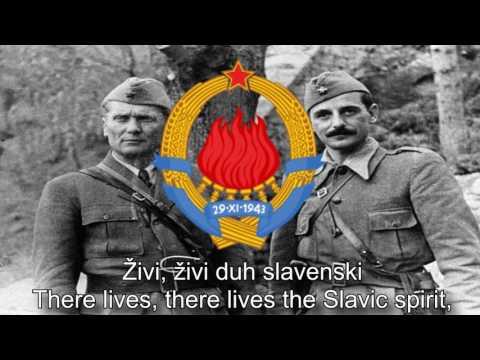 National Anthem of Yugoslavia – Hej,Slaveni (Hey,Slavs)