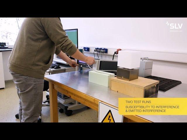 SLV - Unser Qualitätsversprechen | Labortests - EMV