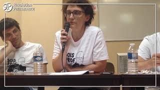 Sandrine professeure au collège République de Bobigny