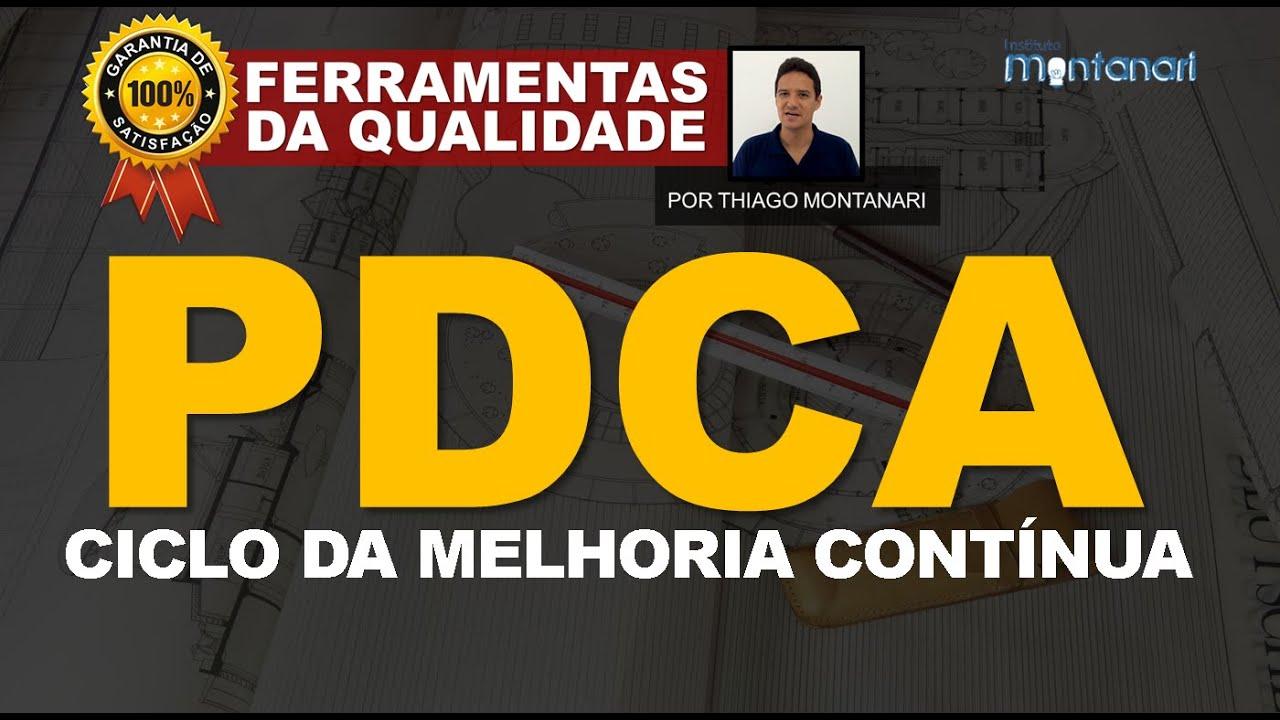 PDCA - Ciclo da Melhoria Contínua - Ferramentas da Qualidade Total