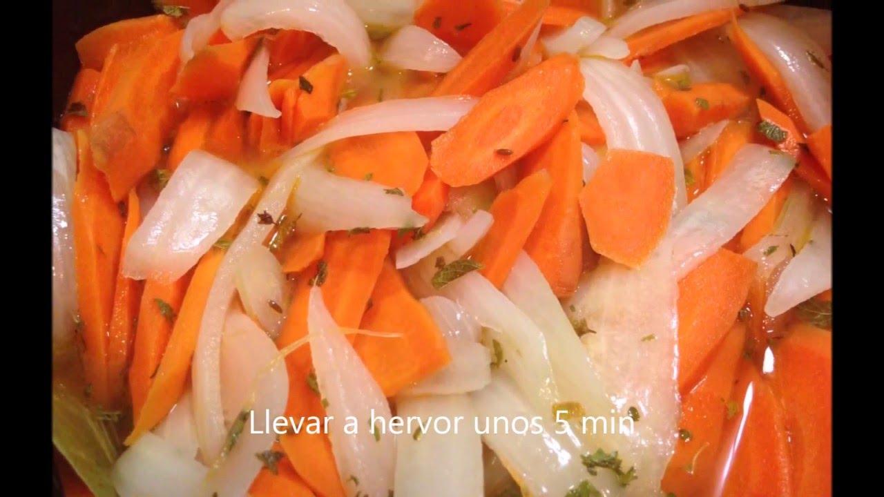 Zanahorias Y Cebollas En Vinagre Las Mas Deliciosas