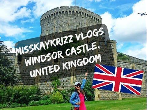 VLOG #19: Windsor Castle Tour in UK London |MISSKAYKRIZZ  ♥
