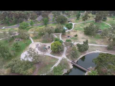 Mile Square Park Drone