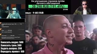 Лёха Медь и Витя CLassic  смотрят Oxxxymiron VS Слава КПСС (Гнойный)( + Ресторатор в скайпе)