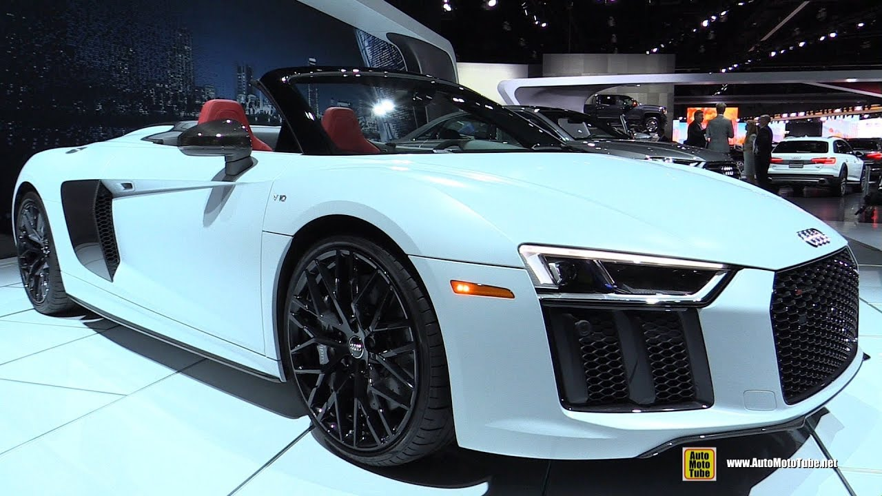 2018 Audi R8 V10 Plus Roadster Exterior And Interior Walkaround
