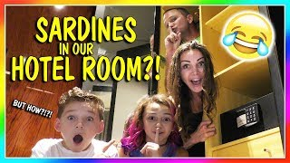 SARDINES IN A HOTEL ROOM | HIDE AND SEEK | We Are The Davises
