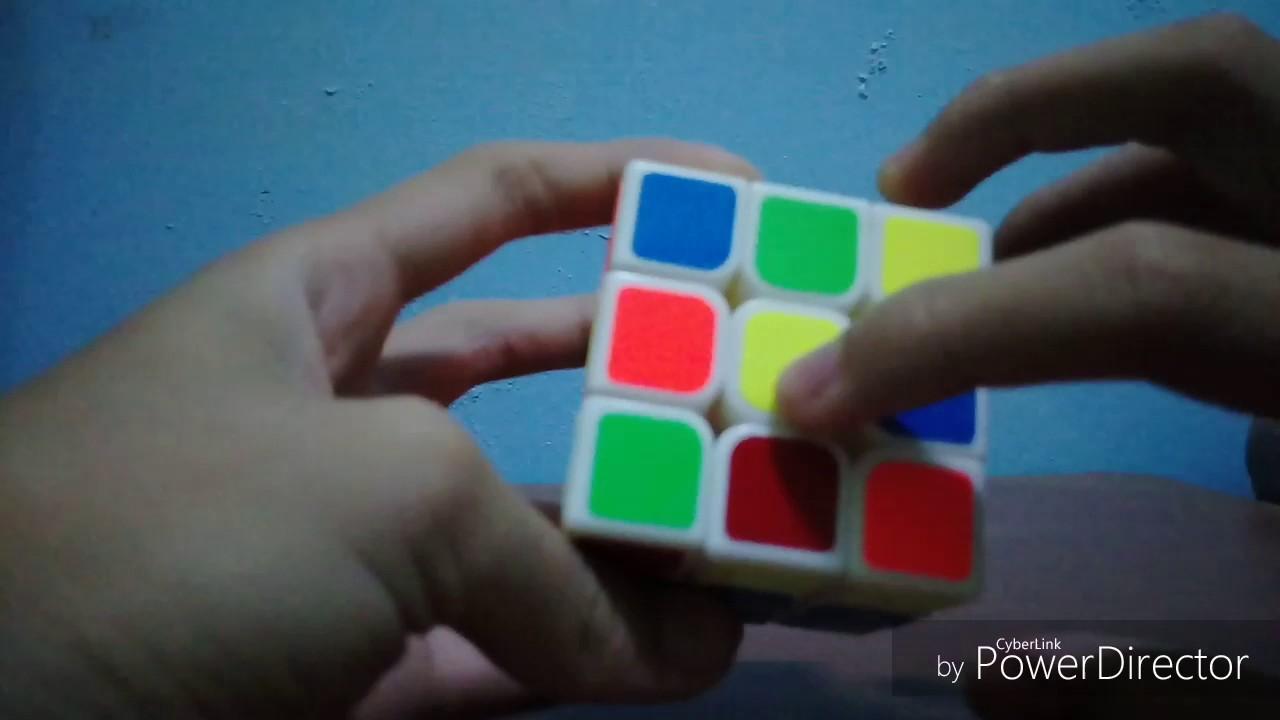 (魔術方塊)3x3解法 一片教到底 - YouTube