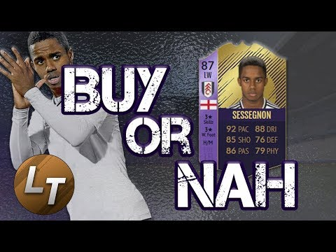 POTY Sessegnon Player Review!  |  Buy or Nah  |  FIFA 18 Player Review Series thumbnail