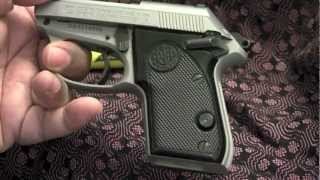 Beretta Tomcat Inox 3032 - 32 Auto - Disassembly / Reassembly