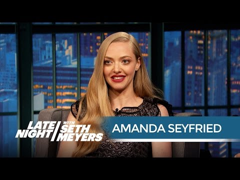 Amanda Seyfried Does Not Want to Be in Superhero Movies - Late Night with Seth Meyers