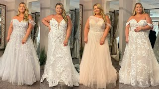PLUS SIZE WEDDING DRESS SHOPPING!!