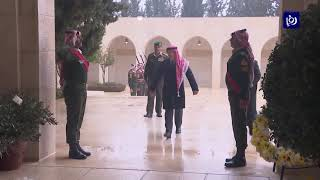جلالة الملك يزور ضريح الحسين - (7-2-2019)