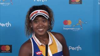 Naomi Osaka press conference (RR) | Mastercard Hopman Cup 2018