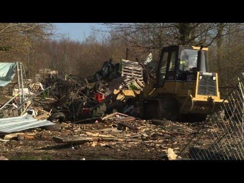 Bure: Evacuation du site du bois Lejuc