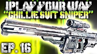 "GHILLIE SUIT SNIPER! - ""iPlay Your Way"" EP. 16 (Black Ops 3 SNIPING Gameplay)"
