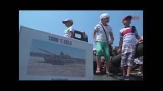 В День ВМФ России в Севастополе прошла выставка вооружения и военной техники