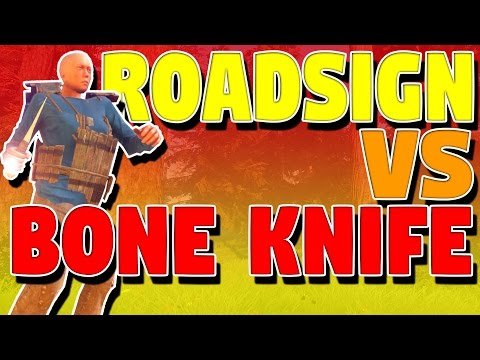 ROADSIGN VS BONE KNIFE | Rust Solo Survival S05E02