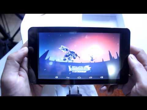 Unboxing Tablet Advan Vandroid Barca T2G Sekaligus Ujicoba Game
