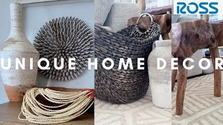 ROSS UNIQUE Home Decor Haul and Shop With Me!
