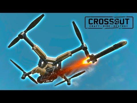 САМОНАВОДЯЩИЕСЯ РАКЕТЫ САМОНАВОДЯЩЕГОСЯ ДРОНА! • Crossout • РД-3 ФИЛИН 0.9.10