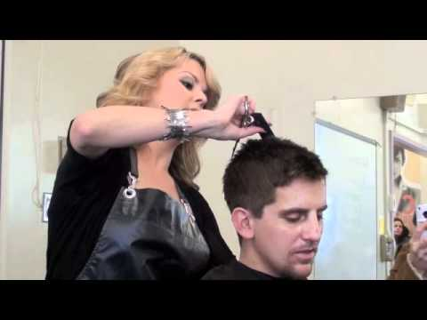 CLIPPER HAIRCUT & EYEBROW TRIM (very detailed demo) by Africa Martinez
