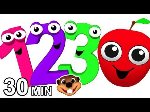 """Kindergarten Songs"" Kids Learning Videos | Fun Lessons for Children | Preschool Education"