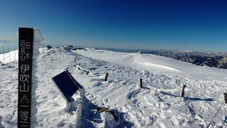 1月の伊吹山へ 初の女子単独冬山登山!
