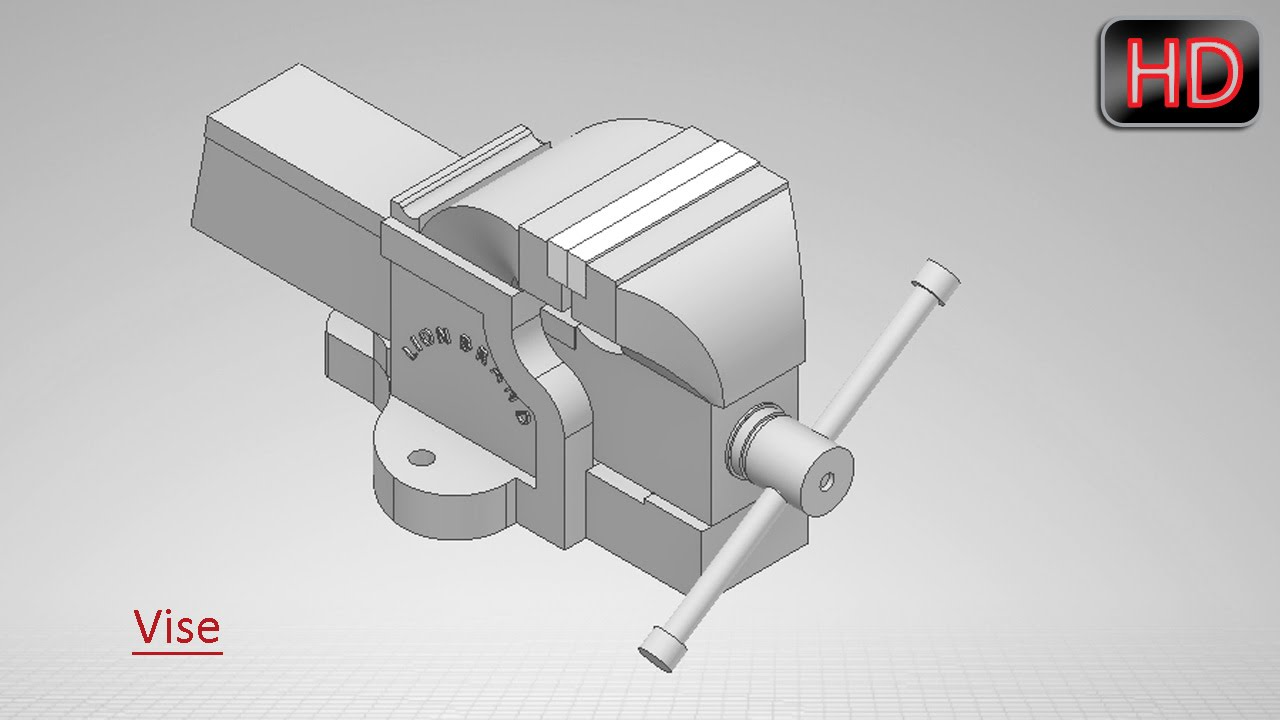 Vise volume 1 video tutorial solidworks youtube vise volume 1 video tutorial solidworks ccuart Image collections