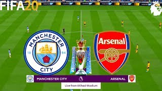 FIFA 20 | Manchester City vs Arsenal - English Premier League - Full Match & Gameplay
