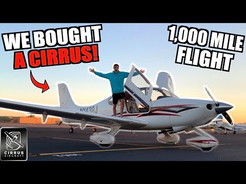 Buying a Cirrus SR20 and Flying It 1,000 Miles Home!