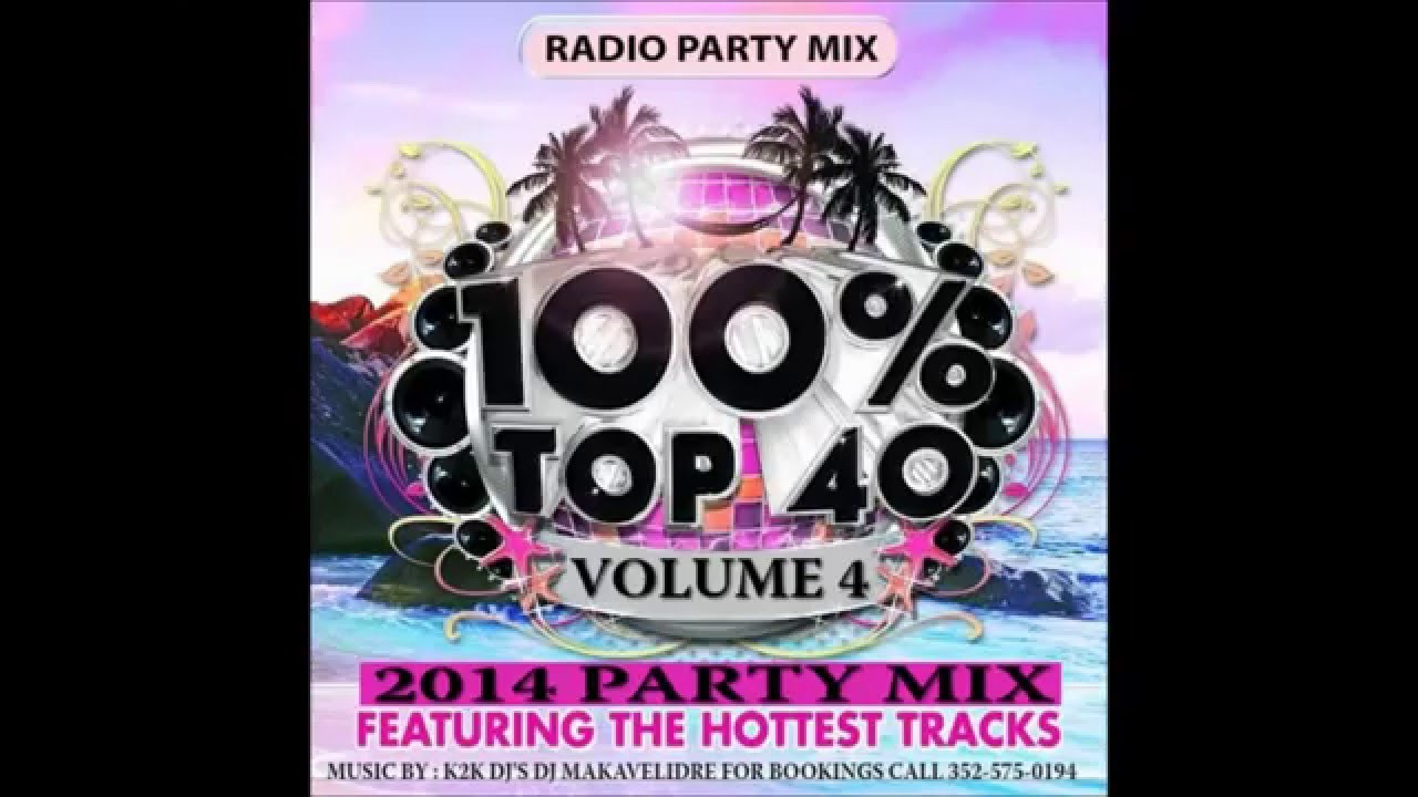 DJ makavelidre  top 40 volume 4 party mix