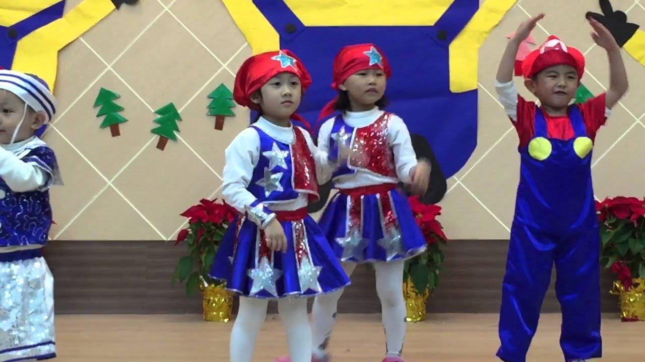 幼兒園復古聖誕趴舞蹈表演---YMCA - YouTube
