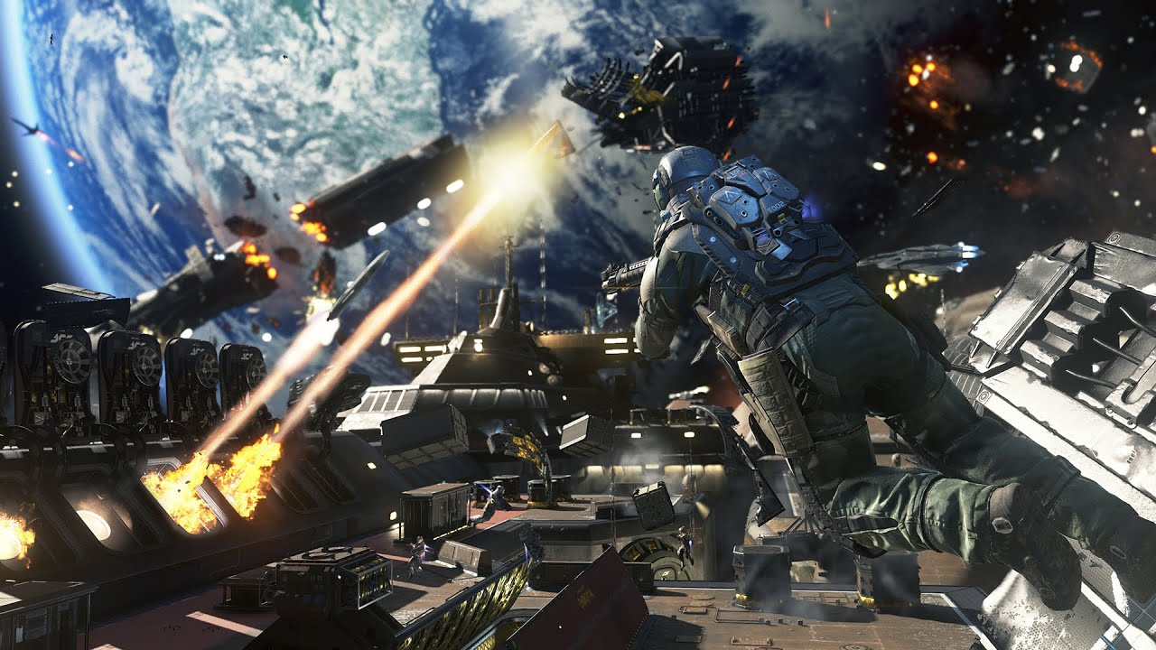 "Call of Duty®: Infinite Warfare - Gameplay Campaña ""Ship Assault ..."