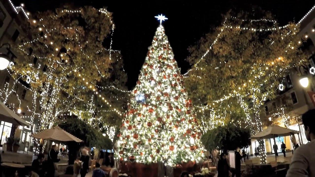 Santana Row Christmas Tree 2020 Santana Row in San Jose CA 12/10 /2018   YouTube