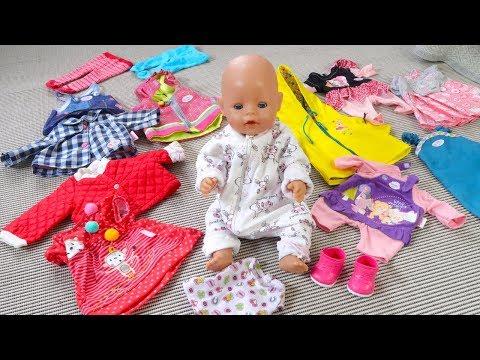 Как МАМА и Алиса Собирались к Няне Куклы Беби Бон Для девочек Мультик для детей