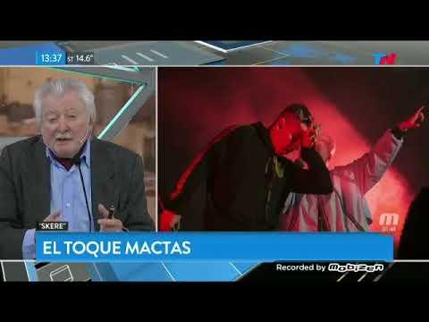 """Mario Mactas hablando del """"Skere"""""""