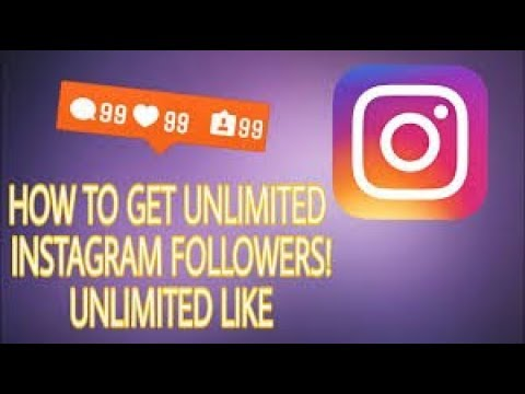 How To Get Real Unlimited Instagram Followers For Free