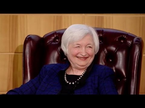 Janet Yellen on Today's Labor Market