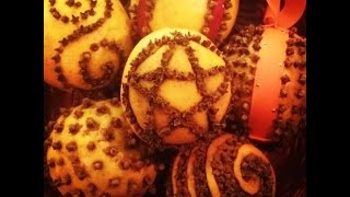 DIY-Orange & Clove Pomander Balls