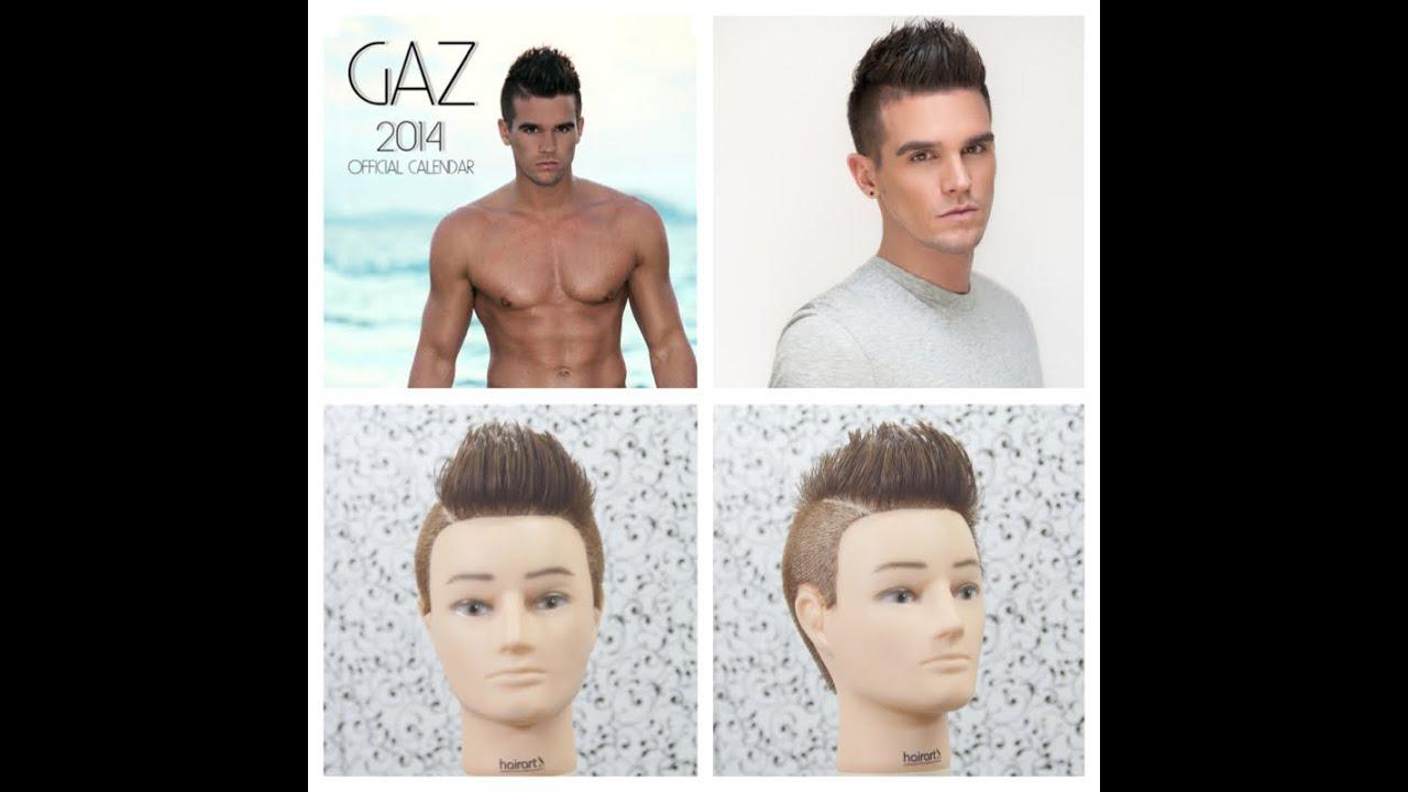 Gary Gaz Beadle Geordie Shore Hair Tutorial Youtube