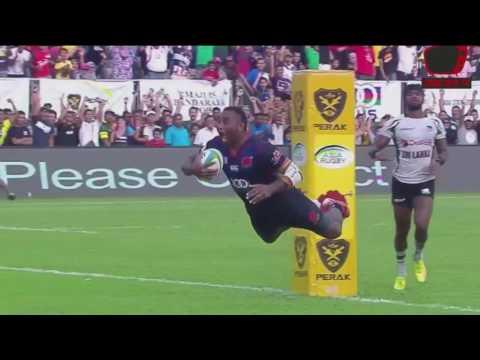 Asia Rugby Championship 2017 - Div 1 : Malaysia 22-9 Sri Lanka